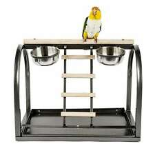 Rainforest Cages Table Top Parrot Stand for Small to Medium Parrots