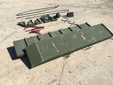 Lowboy Semi-Trailer Ramps XM870MC Lowbed Flatbed 40 tons 403LFSS
