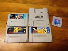SNES Spiele Sammlung