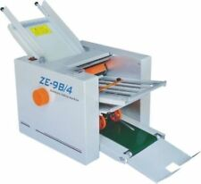 New 210*620mm Paper 4 Folding Plates Auto Folding Machine ZE-9B/4 U