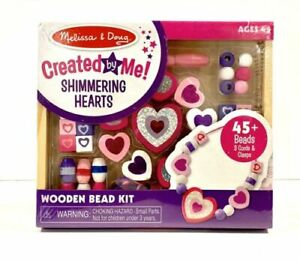 Melissa & Doug created by me shimmering hearts. Valentine's Day #9495