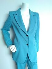 Designer JAEGER wool jacket blazer size 12 -- NEW WITH TAGS-- blue pinstripe