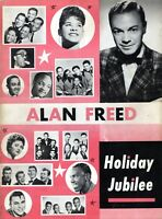 THE PLATTERS/RUTH BROWN 1955 ALAN FREED HOLIDAY JUBILEE PROGRAM-FRANKIE LYMON