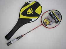 Badmintonschläger Carlton Powerblade Super-Lite Rot mit 3/4 Hülle Neu portofrei