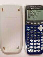 Texas Instruments TI-84 Plus Silver Edition Graphing Calculator Silver No Cords
