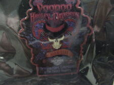 "HARLEY DAVIDSON*NEW ORLEANS,LA*FRENCH QTRS*VOODOO HD*SKULL*PIN""BRAND NEW*SEALED"