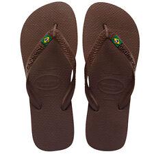 Sandali e scarpe Havaianas marrone per il mare da uomo dal Brasile