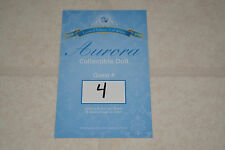 Disney Limited Edition Doll Line Reservation Card Sleeping Beauty Aurora 4