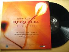 REFERENCE RECORDING RR-57 JOHN RUTTER - REQUIEM - Audiophile LP - Looks Unplayed