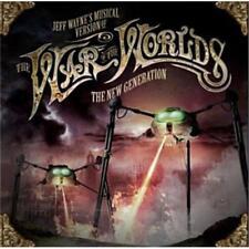WAR OF THE WORLDS The New Generation 2CD NEW Jeff Wayne Liam Neeson Gary Barlow