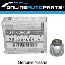 Genuine Nissan Magnetic Gearbox Transmission Sump Drain Plug suits Patrol GQ GU