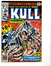 Kull #28 (8/78) FN (6.0) Thulsa Doom! Chan Art! Great Bronze Age!