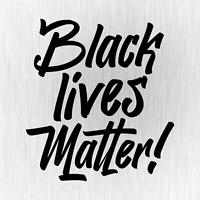 BLACK LIVES MATTER George Floyd Breathe Quote Auto Vinyl Decal Sticker Aufkleber