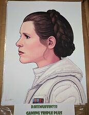 PRINCESS LEIA 12X16 GICLEE (MIKE MITCHELL) STAR WARS (OOP) MONDO