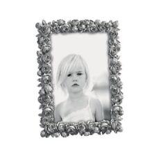 Mascagni portafoto in resina cornice roselline A464 Grigio - 15x20