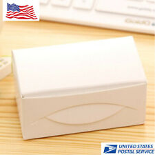 400pcs White Blank Kraft Note Paper Business Cards Vocabulary Word Message Card