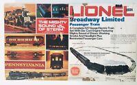 Lionel  Broadway Limited Passenger Train 027 6-1487