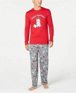 Family Matching Christmas Pajamas Set Baby Dog Sleepwear- Happy Pawlidays