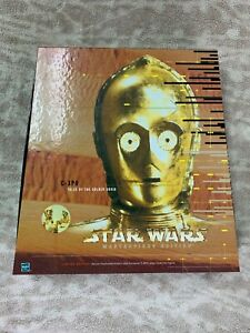 Star Wars Masterpiece Edition C-3PO Action Figure w/ Tales Of The Golden Droid