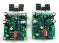 2X NEW Class AB MOSFET L7 Audio power amplifier boards KIT DUAL-CHANNEL 300-350W