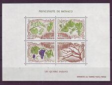 Postfrische Briefmarken aus Monaco mit Pflanzen-Motiv