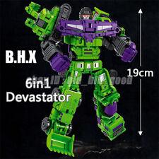 Transformers Devastator 6in1 GT Mini Engineering Vehicle Robot Action Figure Toy
