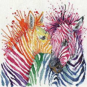 Cross Stitch Kit ~ Design Works Zebras #DW3266