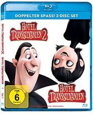 Hotel Transsilvanien 1+2 Blu-ray NEU OVP Doppelter Spass