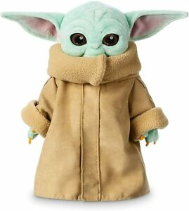 Official Disney The Child Plush Star Wars The Mandalorian 11'' (Baby Yoda) Grogu