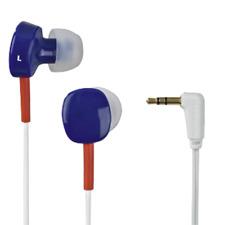 Thomson EAR3056BRW In-Ear Headphones in Blue, Orange & White #132619 (UK) BNIP