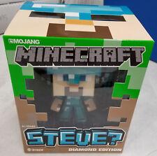 Minecraft 6-Inch DIAMOND Steve With SWORD Vinyl Toy Action Figure