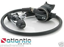 Atomic Aquatics Z3 Swivel Hose Scuba Regulator Lifetime Warranty -Yoke