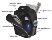 SkyLite Aviation Bag for Pilot Headset (David Clark, Lightspeed, SkyLite)