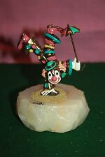 Rare Vintage Ron Lee World Of Clowns 1981 Hansstand Clown With Umbrella