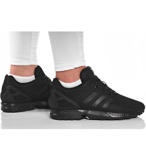 Black adidas ZX Flux Trainers for Women for sale | eBay