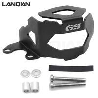 Black Front Brake Fluid Reservoir Guard Protector For BMW F800GS F700GS 2013-18