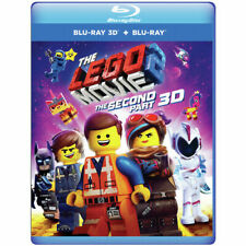 The Lego Movie 2: The Second Part [New Blu-ray 3D] With Blu-Ray, 3D