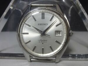 Vintage 1968 SEIKO mechanical watch [Skyliner Calendar] 21 Jewels 6222-8000