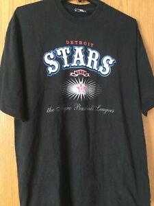 Detroit Stars - 1919 - Negro Baseball Leagues.  Black Shirt.  3X.