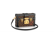 Louis Vuitton Petite Malle Monogram Trunk Bag