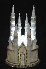 CINDERELLA CASTLE WEDDING CAKE TOPPER GOLD TRIM
