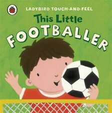 Little Footballer / Englische Kinderbücher / Touch and Feel Book / Kindergarten