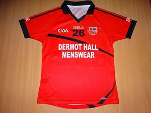 * Edenderry GAA #26 MATCH WORN O'NEILLS GAELIC SHIRT ALL IRELAND Footbal Hurling