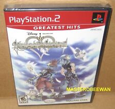 Kingdom Hearts Re: Chain of Memories New Sealed (Sony PlayStation 2, 2008) PS2