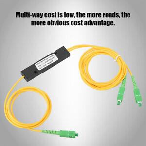 SC APC 1X2 PLC Singlemode Fiber Optical splitter SC/UPC PCL Splitter For Passive
