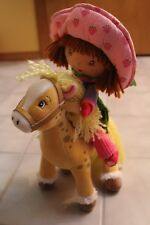 Strawberry Shortcake Plush Doll & Honey Pie Pony Stuffed Animal Horse Toys 2004