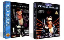 The Terminator Sega Mega CD Replacement Spare Game Case + Box Art Work No Game