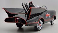 "Miniature Batman Batmobile Pedal Car ""Too Small For Child To Ride On"" Metal Body"