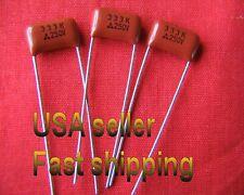 12 pcs   -   .033uf  (0.033uf)  250v   metalized film  capacitors (L)