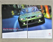 HOLDEN 2003 VY COMMODORE SS 5.7 V8 Sedan Auto Magazine Page Sales Advertisement